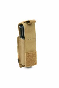Molle 9mm Pistol Mag Pouch With Hard Insert