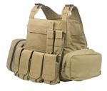 le Plate Carrier With Pouch Set